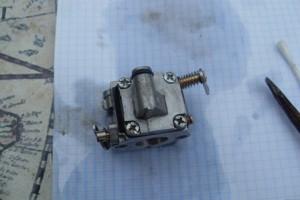 Карбюратор верхняя крышка бензопилы штиль
